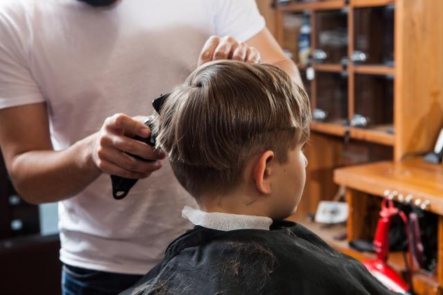 バリカン 子供 髪型